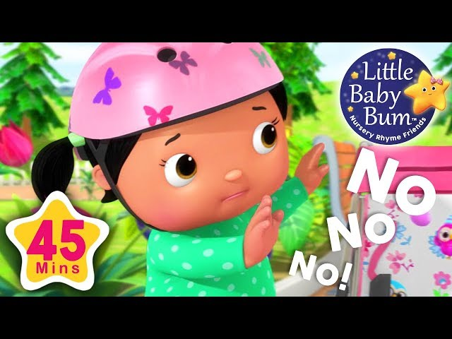 No No No ! Play safe in Playground   45 Minutes Compilation from LittleBabyBum!