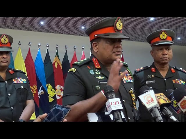 General Shavendra Silva ,CDS & Commander Of the Army Voice cut to the Media @ AHQ - 07.01.2021