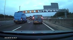 New HADECS 3 variable speed camera on M25 flashes multiple vehicles on M25 clockwise