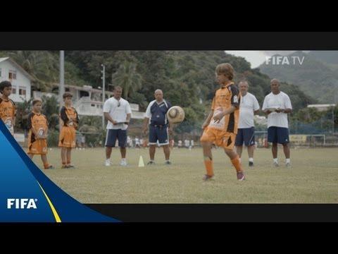 Football is 'like a religion' in Tahiti