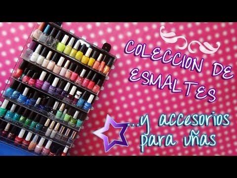 Colecci n de esmaltes y accesorios para u as youtube for Accesorios para lonas y toldos