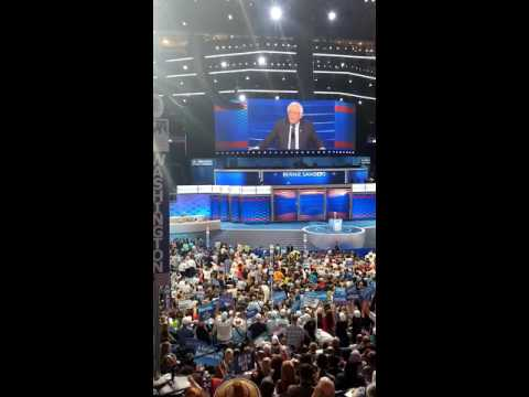 The National Convention feels the Bern!