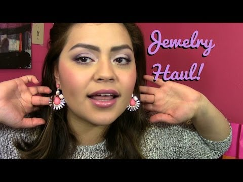 Jewelry Haul! Forever 21, Charming Charlie, Shoplately