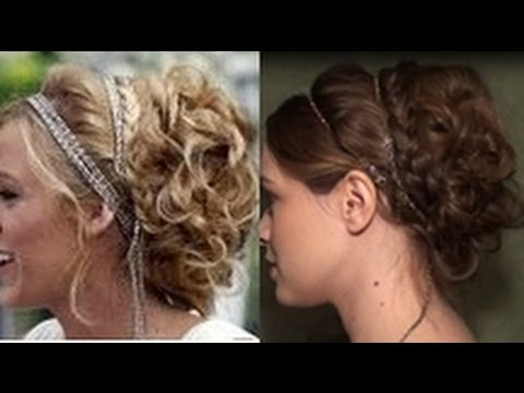 serenas white party updo youtube