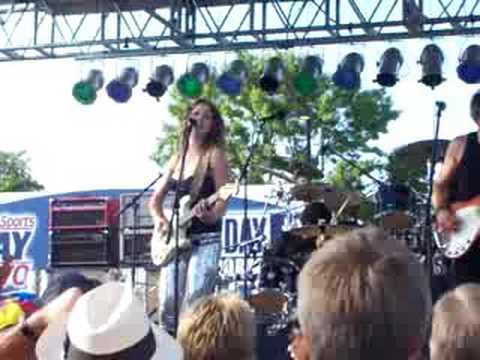 Ana Popovic  Fargo Blues Festival