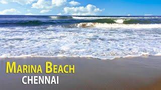 Marina Beach Chennai | Marina Beach And Chennai Lighthouse | Chennai Tour Part -1