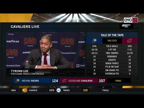 Tyronn Lue full postgame press conference after Cavs lose 4th straight game
