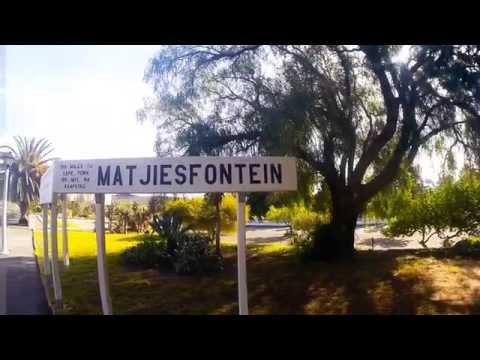 Matjiesfontein in the Karoo.