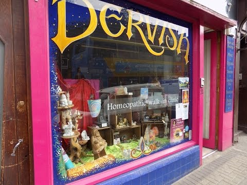 Come with us to Dervish Holistic and New Age Shop in Dublin Ireland