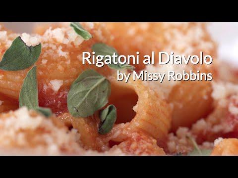 Rigatoni al Diavolo by Missy Robbins of Lilia