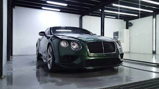 Process Of Maintaining PPF On A Bentley Continental GT Sport