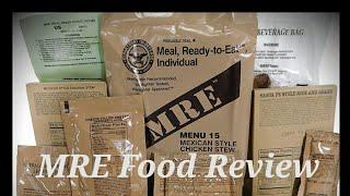 MRE food test review! (BAIR)