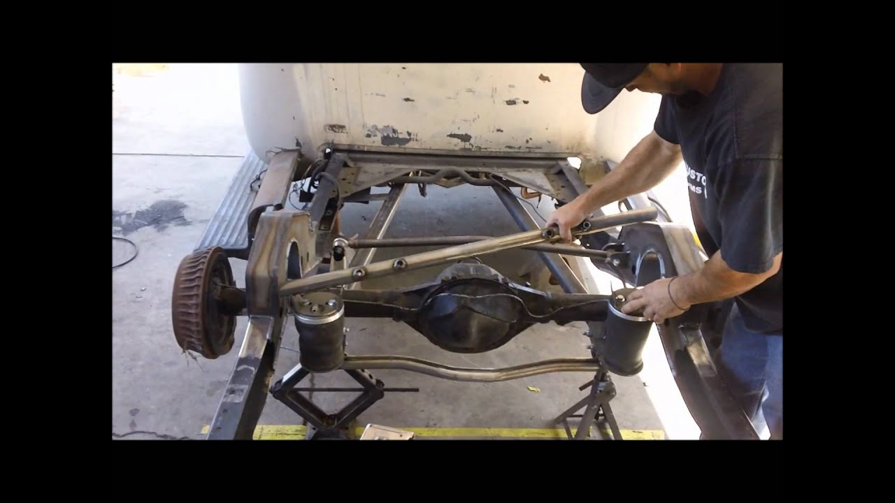 All Chevy chevy c10 suspension kit : Jimenez Bros Customs / How to installl 2 link / suspension PART 2 ...