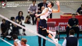 Gambar cover Matt Anderson destroyed the Polish Block! | Men's Volleyball World Cup 2019