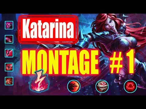 Katarina Montage  #1 (Katlife) | Best Katarina NA |  League of Legends