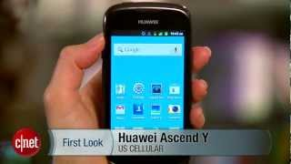 Huawei Ascend Y stuck in Gingerbread-land