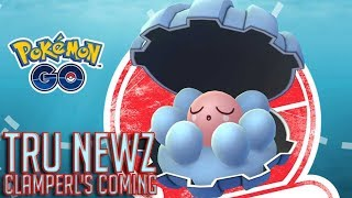 Pokemon Go: Tru News - Clamperl is Coming