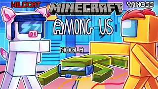 Among Us but it's actually Minecraft...