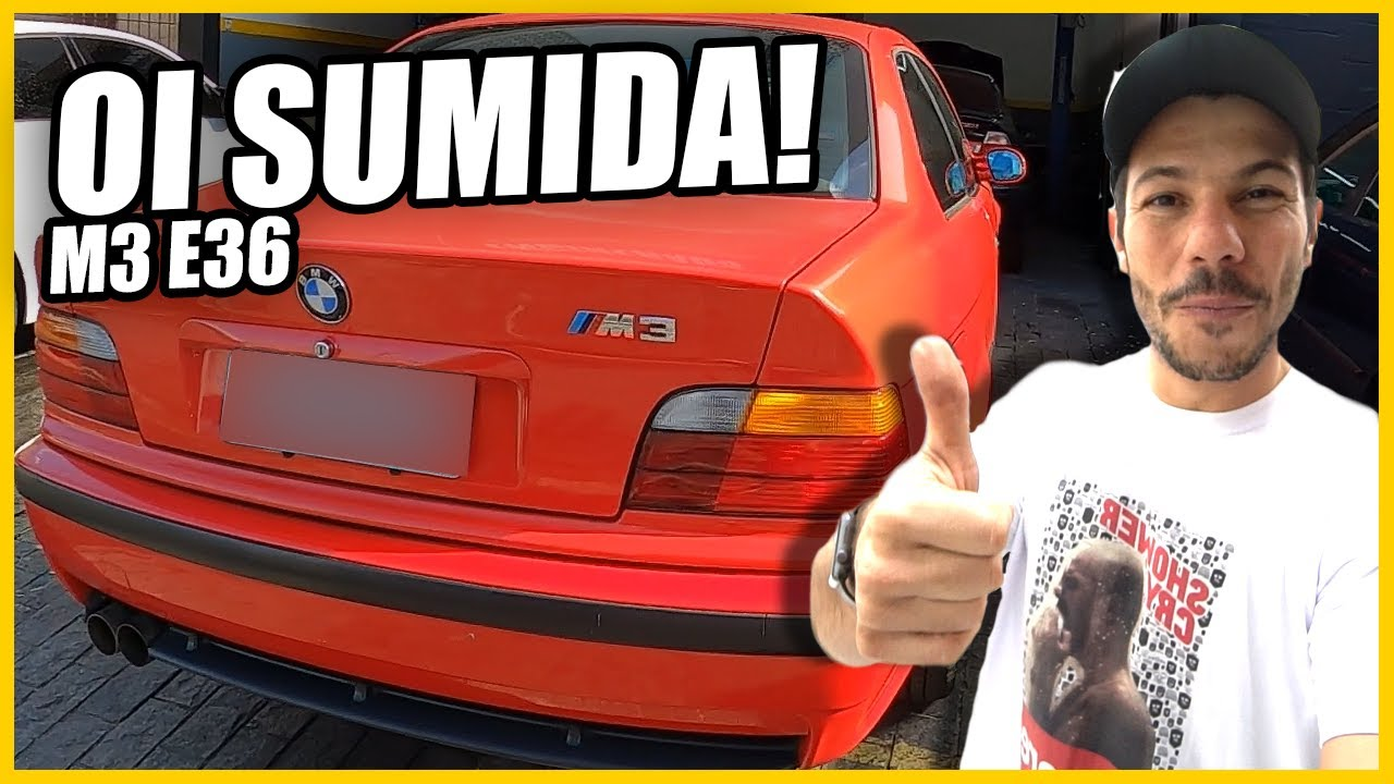 BMW M3 E36 do @SP Customs - Como anda? Rolê EMOCIONADO!👿