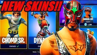 "NEW ""MASKED FURY & DYNAMO"" SKINS in FORTNITE!!! - PLAYING WITH SUBS! (Fortnite Battle Royale)"