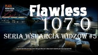 BO2 Flawless 107-0 Nuclear beast gameplay 6vs6 PLAZA - Seria Wsparcia widzow #5