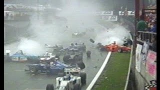 F1 The Big Crashed All The Time Spa Belgian Gp 1998