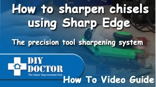 How To Sharpen Chisels Using Sharp Edge