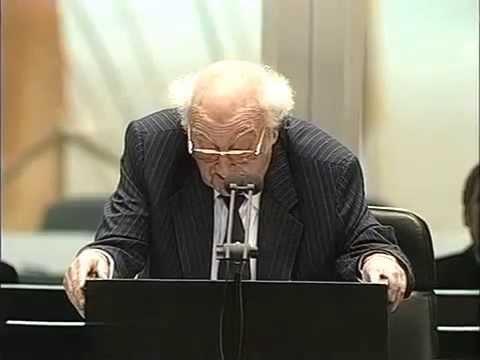 Stefan Heym (parteilos!) - Eröffnungsrede des 13. Bundestages