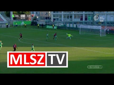 Eppel Márton duplázása a Swietelsky Haladás - Budapest Honvéd mérkőzésen