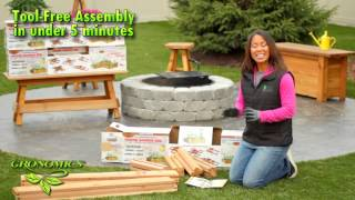 Gronomics® Modular Raised Garden Beds - Assembly
