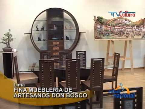 Artesanos de don bosco en ancash exponen sus trabajos en Muebles seccionales lima