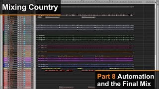 Mixing A Country Song (8 of 8) - Automation and the Final Mix - Dan Wesley