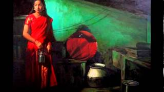 Amazing Paintings By S. Ilayaraja | Indian Rural Woman