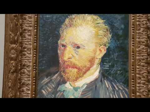 Visiting Van Gogh - Seasons Exhibition at NGV