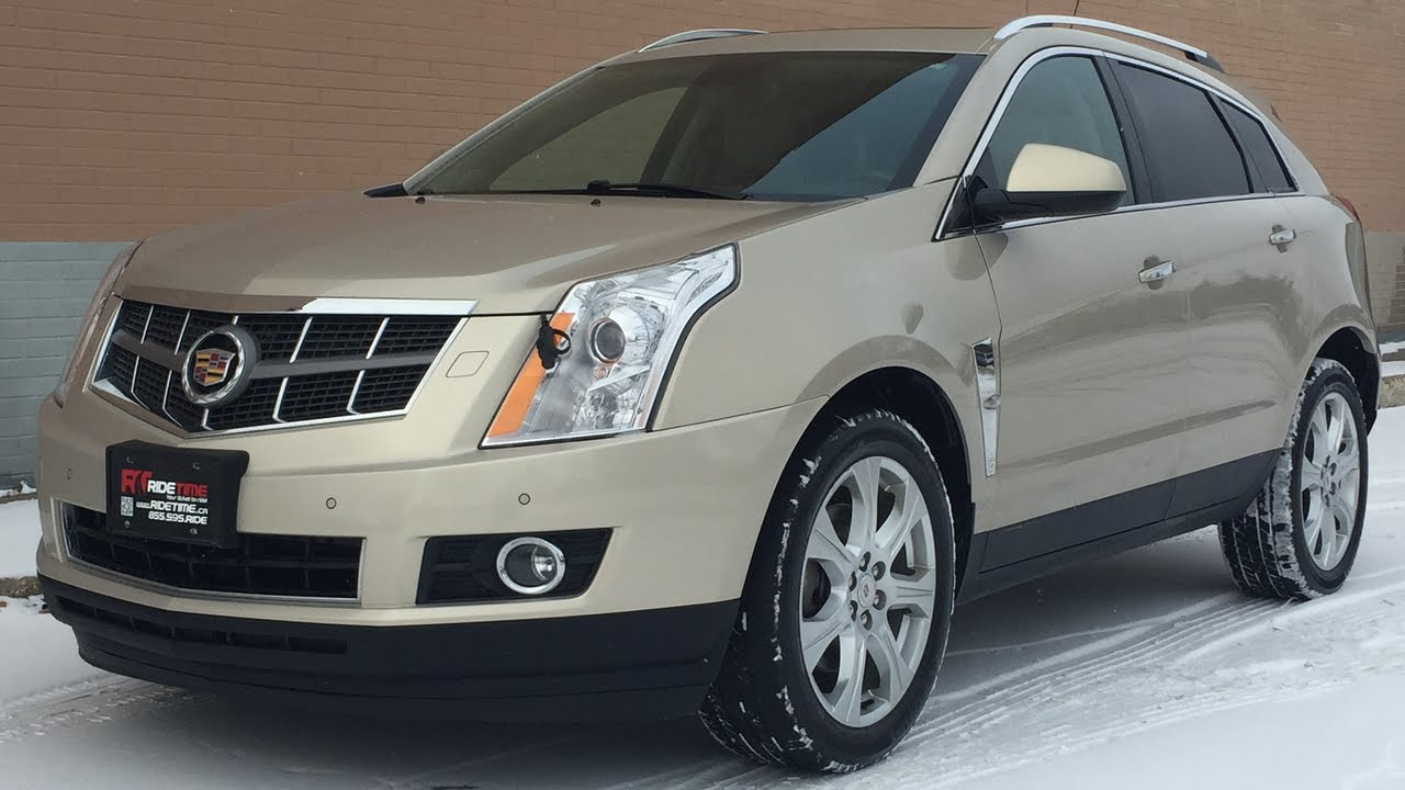 2010 Cadillac Srx4 Performance Edition Leather Heated