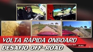 CHEVROLET S10 X FORD RANGER X TOYOTA HILUX - DESAFIO OFF-ROAD - VR ONBOARD #1 | ACELERADOS