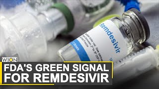 FDA approves remdesivir as first COVID-19 treatment | Gilead Science | World News | WION News