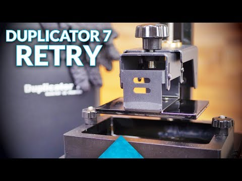 Live: Let's get some resin prints from the Wanhao Duplicator 7! (D7)