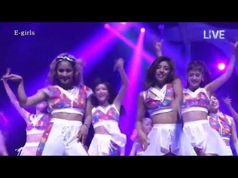 E-girls のダンス