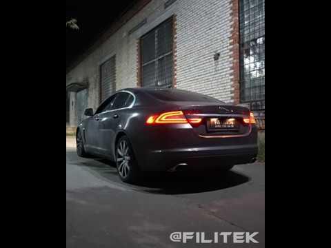 Спортивный выхлоп на Jaguar XF 3 литра
