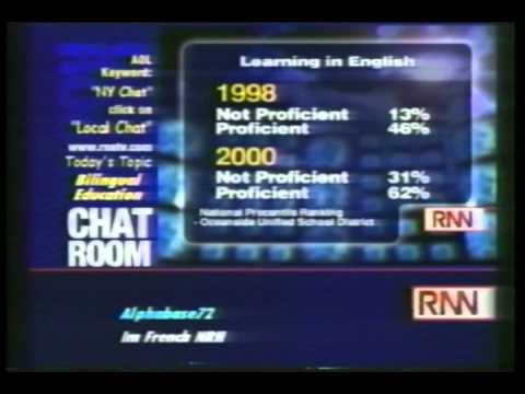 Bilingual Education New York #3 - The Big Story, WRNN/New York, September 20, 2000