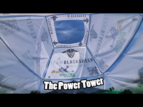 Is the Power Tower too Hard for a Race Track?