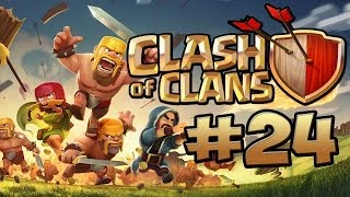 CLASH OF CLANS #24 - Rathaus lvl 5 BASE BAUEN ★ Let's Play Clash of Clans