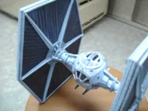 Papercraft papercraft Star Wars TIE-Fighter