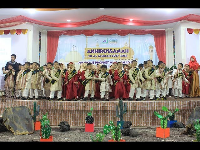 Wisudawan & Wisudawati TK Al-Jannah 2017/2018