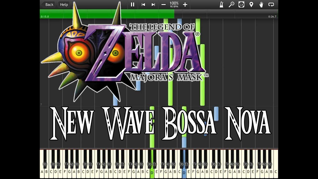 Zelda Majora s Mask New Wave Bossa Nova Synthesia