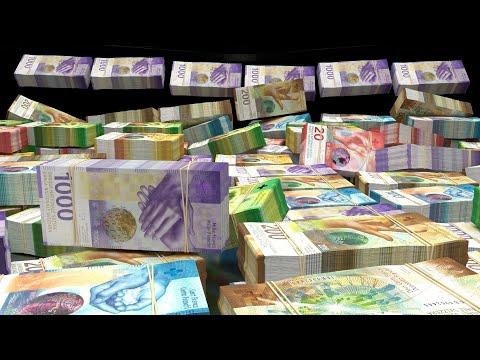 BILLIONS of SWISS FRANCS :: Wealth Visualization, Manifestation, Abundance HD