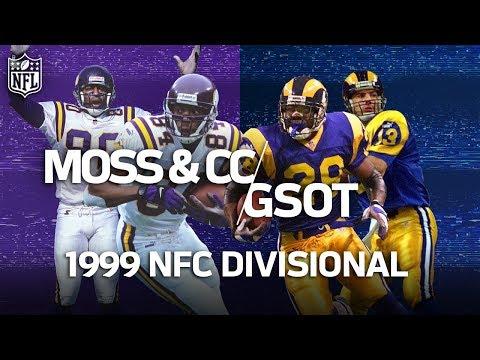 Vikings vs. Rams: Randy Moss & Cris Carter Battle The Greatest Show on Turf | NFL Highlights