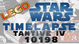 Lego Timelapse - Star Wars Blockade Runner / Tantive IV 10198