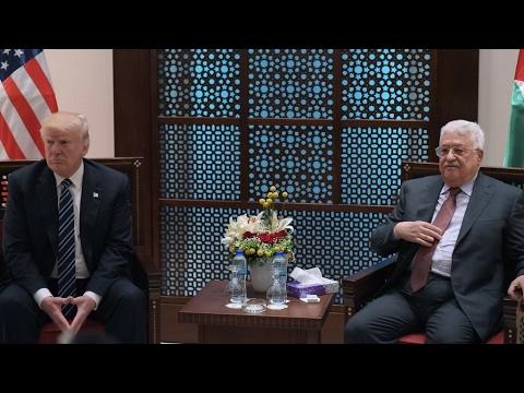 Israël : face à Mahmoud Abbas, Donald Trump se garde d'évoquer la solution à deux États